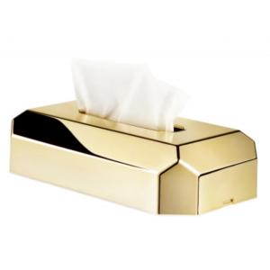 Держатель косметических салфеток Ille Hotel gold