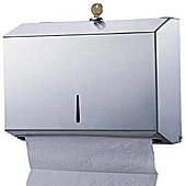 Диспенсер листовых полотенец FD-918, матовая сталь