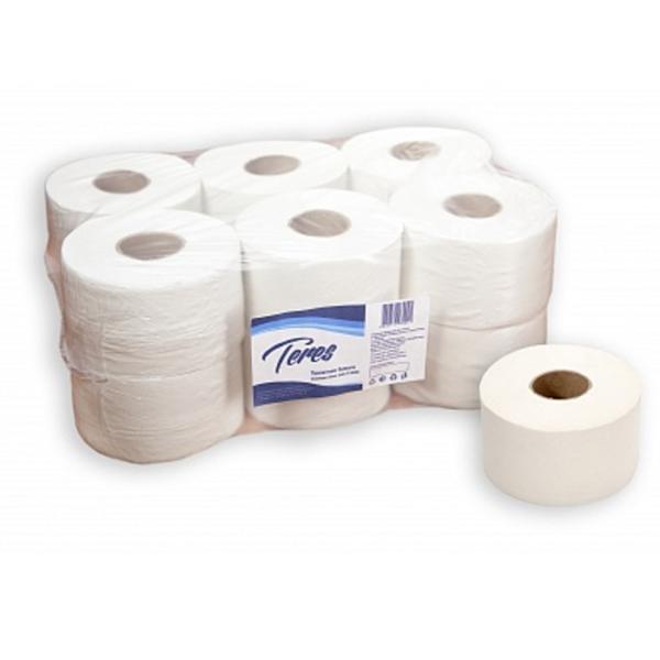 "Туалетная бумага ""Терес"" Эконом+, 1-сл., mini, Т-0024"