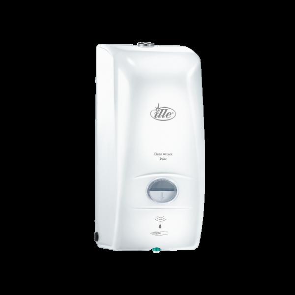 Дозатор жидкого мыла сенсорный Илле белый, D0111