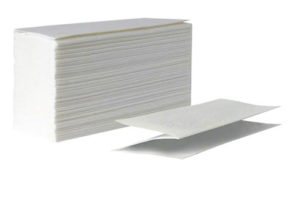 Бумажные полотенца z сложения