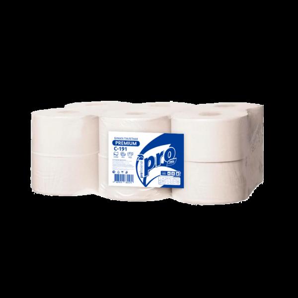Туалетная бумага двухслойная PREMIUM PRO C191