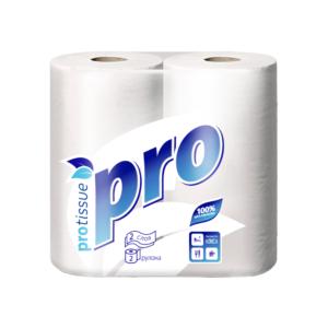 Полотенца бумажные рулонные PRO C162