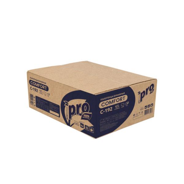 Полотенца бумажные V сложения PRO, 25 гр. C192