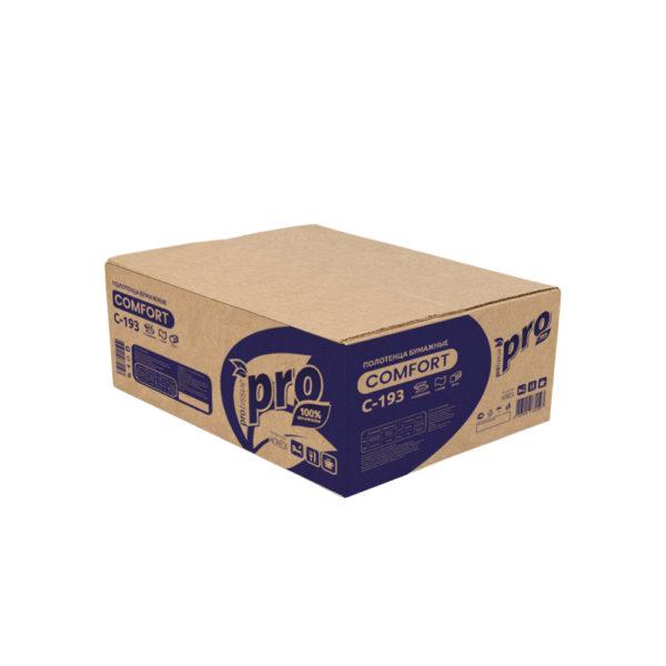 Полотенца бумажные V сложения PRO, 33 гр. C193
