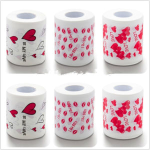 Туалетная бумага для влюбленных картинка